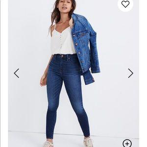 Madewell // NWT Curvy High Rise Jeans